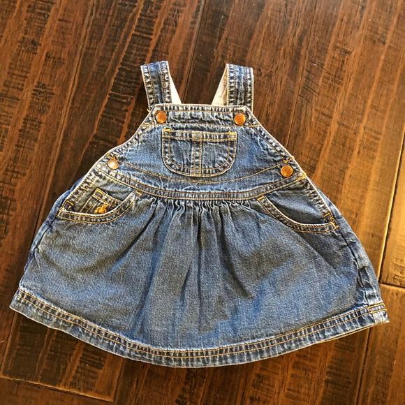 Baby Gap Vintage Dress Overalls